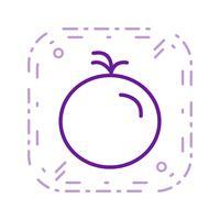 Icona di pomodoro vettoriale