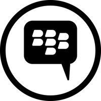 blackberry Vector Icon
