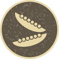Ícone de feijão de vetor