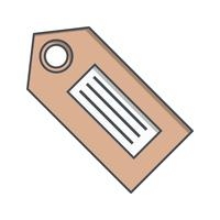 Vector Tag Icon