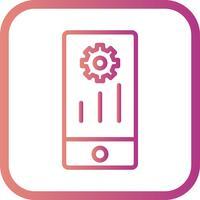 Vector Mobile Marketing Icon