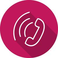 Vektor-Symbol für aktiven Anruf