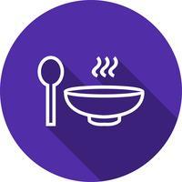 Ícone de sopa de vetor
