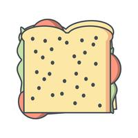 Vector Sandwich pictogram
