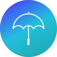Icona di vettore dell'ombrello