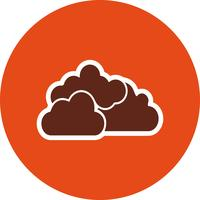 Cloudy Vector Icon