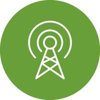 Broadcast Vector Icon
