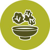 Vector salade pictogram