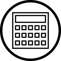 Vector Calculation Icon