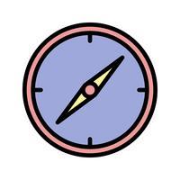 Kompass-Vektor-Symbol