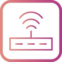 Icône de routeur de vecteur
