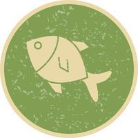 Vector icono de pescado