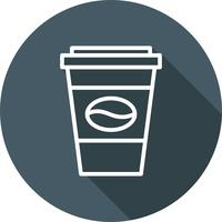 Vector koffie pictogram