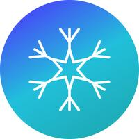 Snow Flake Vector Icon