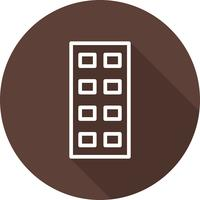 vektor mellanmål ikon