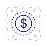 Vector Dollars Icon