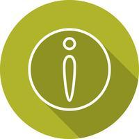 Vektor-Informationssymbol