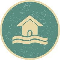 Flood Symbol Vector Icon
