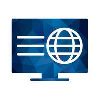Vector webpagina pictogram