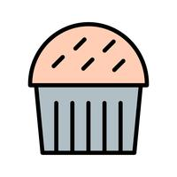 Vector Cupcake pictogram