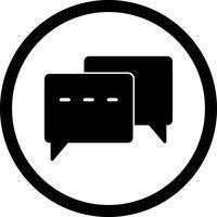 Vector Conversation Icon