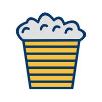 Vector Popcorn pictogram
