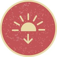 Sundown Vector Icon