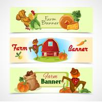 Farm banners set