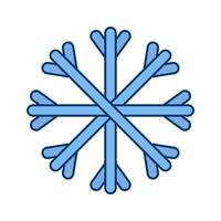 Snow Vector Icon