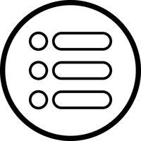 Liste Vector Icon