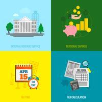 Conjunto plano de impostos