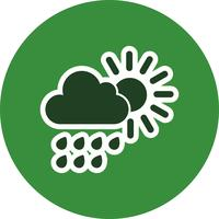 Zomerregen Vector Icon