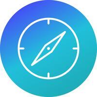 Vektor-Kompass-Symbol