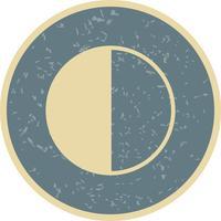Último Trimestre Vector Icon