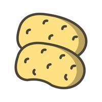 Vector Potatoes Icon