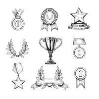 Icone del premio impostate