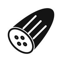Vector icono de pepino