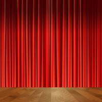 Theater curtains background