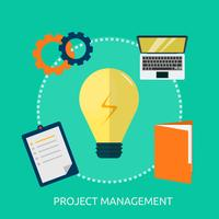 Project Management Conceptual illustration Design