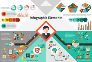 Finanz-Infografik-Set