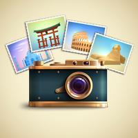 Reise-Foto-Hintergrund