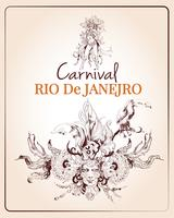 Cartaz do carnaval do Rio