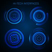 Interfaccia Hud futuristica