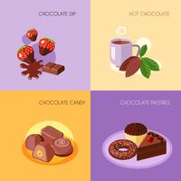 Ícones de chocolate