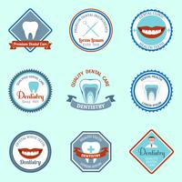 Dental emblems set