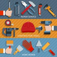 Repair tools banners