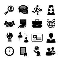 Set di colloqui di lavoro