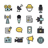 News Reporter Icons