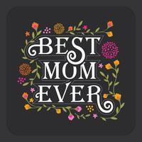 Mom Typography Vector