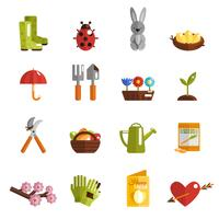 lente pictogram plat